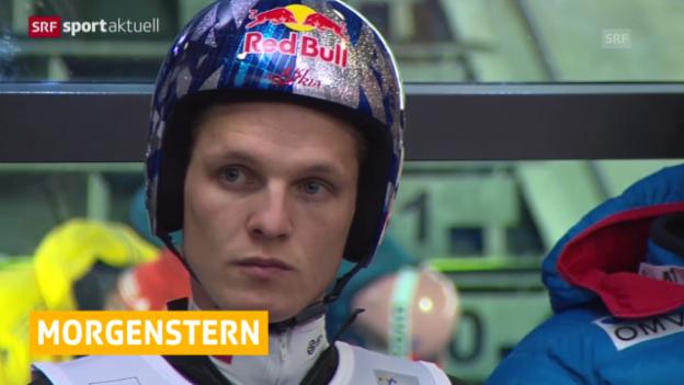 Video «Skispringen: Rücktritt von Thomas Morgenstern («sportaktuell»)» abspielen