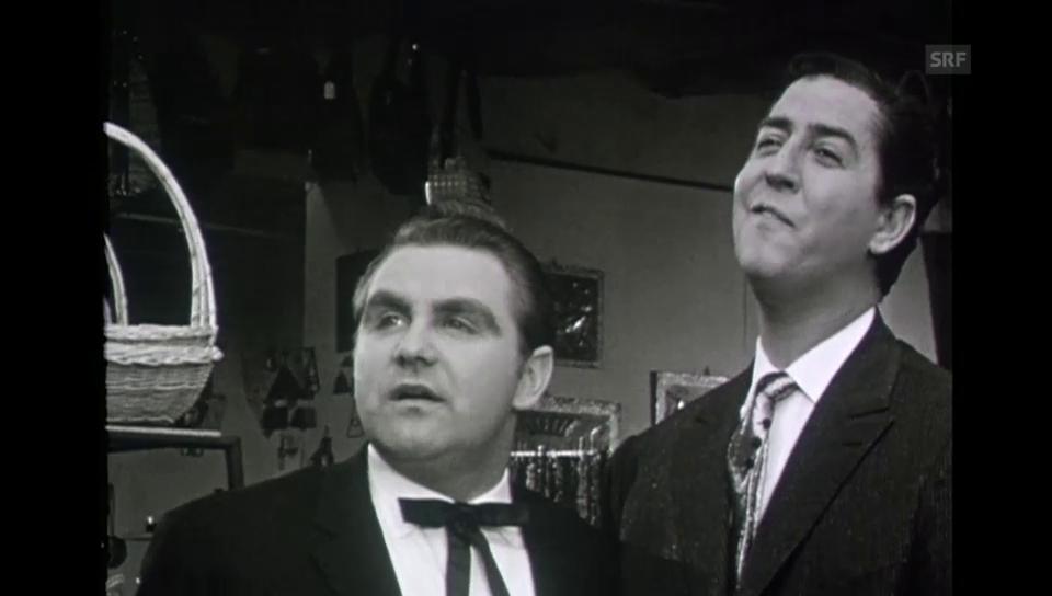 1963: Jörg Schneider in «Eine Reise durch die Schweiz mit Vico Torriani»
