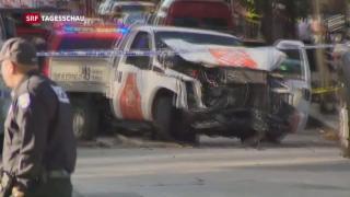 Video «New York nach der Terrorattacke» abspielen