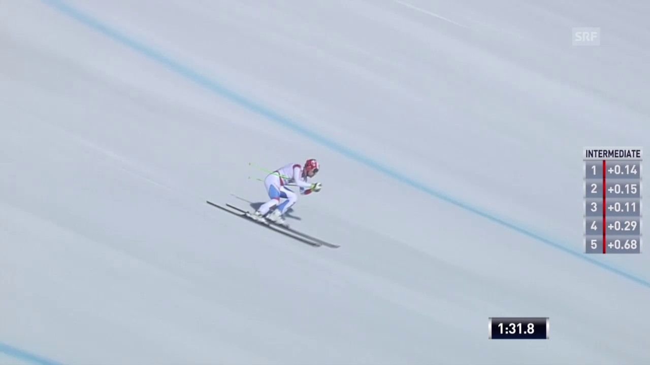 Ski alpin: Weltcup-Finale in Méribel, Männer-Abfahrt, Patrick Küng
