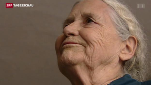 Video «Literatur-Nobelpreisträgerin Doris Lessing gestorben» abspielen