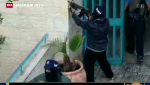 Video «Jerusalem: Tote und Verletzte nach Anschlag auf Synagoge» abspielen