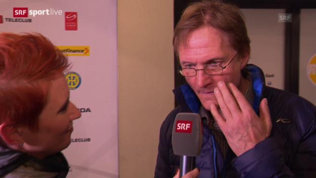 Video «Eishockey: Del Curto Interview» abspielen