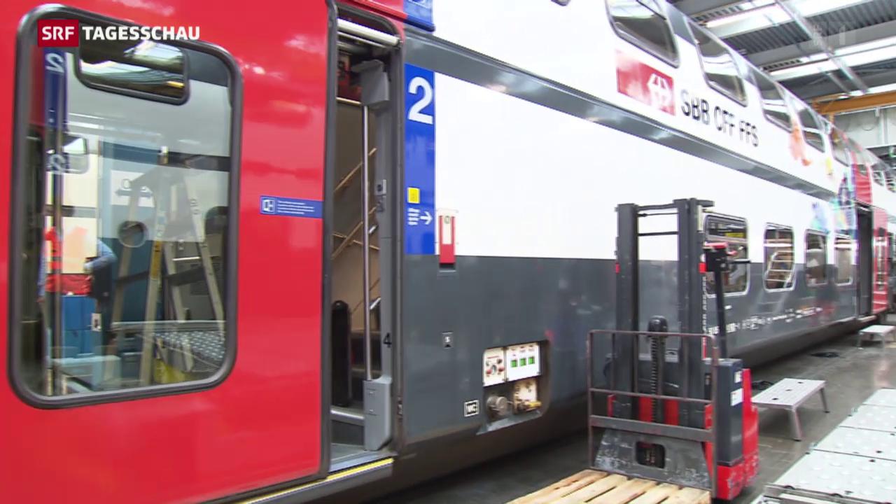 SBB soll Bahnwagen aufrüsten