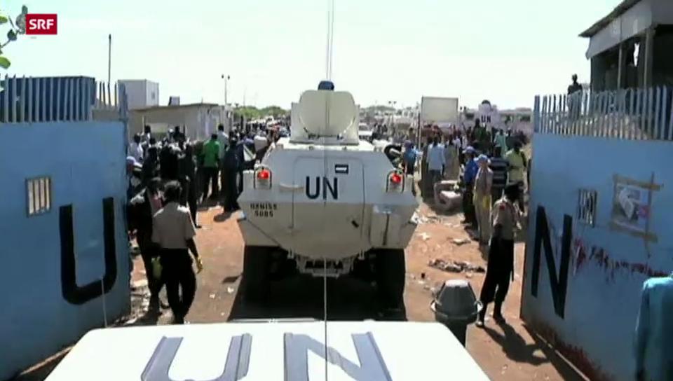 Lage im Südsudan unübersichtlich
