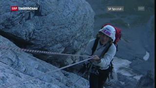 Video «80 Jahre Erstbesteigung Eigernordwand» abspielen