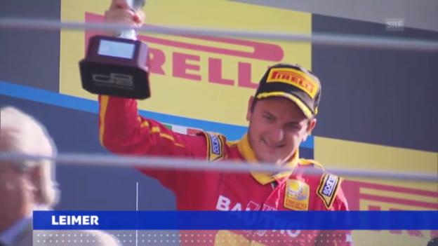 Video «GP2 in Monza («sportaktuell»)» abspielen
