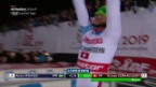 Video «Zenhäusern feiert seinen 1. Weltcup-Sieg» abspielen