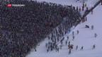 Video «Cologna gewinnt Skimarathon» abspielen