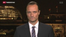 Video «Einschätzungen zum amerikansich-deutschen Treffen» abspielen