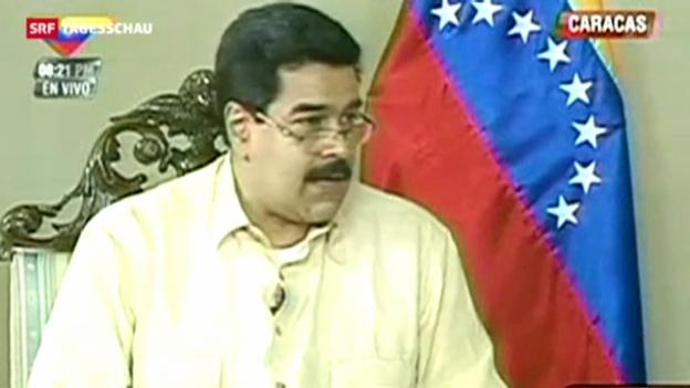 Video «Chavez kämpft um sein Leben» abspielen