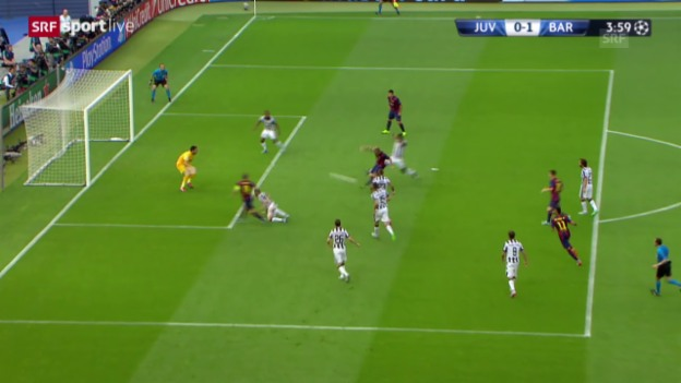 Video «Fussball: CL-Final, 1:0 Rakitic» abspielen