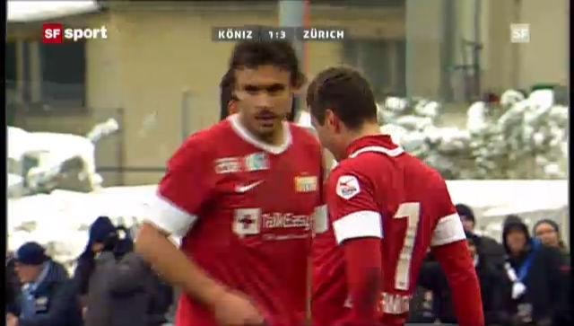 Cup-Achtelfinal Köniz - FCZ («sportpanorama»
