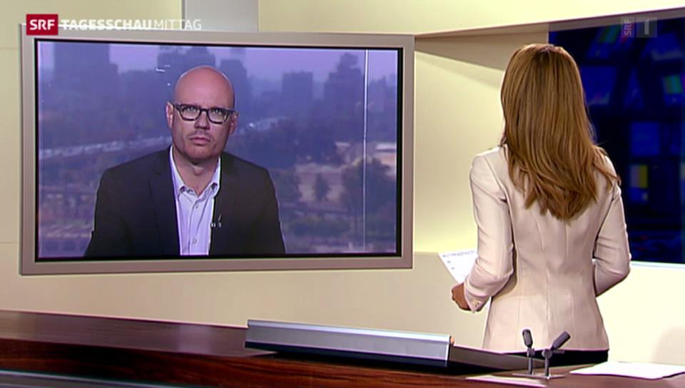 SRF-Korrespondent Pascal Weber zu den Angriffen