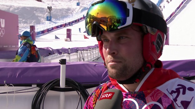 Video «Snowboard: Parallel-Slalom, Interview mit Kaspar Flütsch (sotschi direkt, 22.2.2014)» abspielen