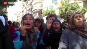 Video «Ägyptens Justiz rechnet mit Mursi-Anhängern ab» abspielen