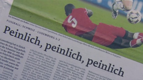 Link öffnet eine Lightbox. Video Viel Drama: Das Luxemburg-Debakel 2008 abspielen