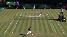 Video «Brown überlistet Murray mit «Smash-Stoppball»» abspielen