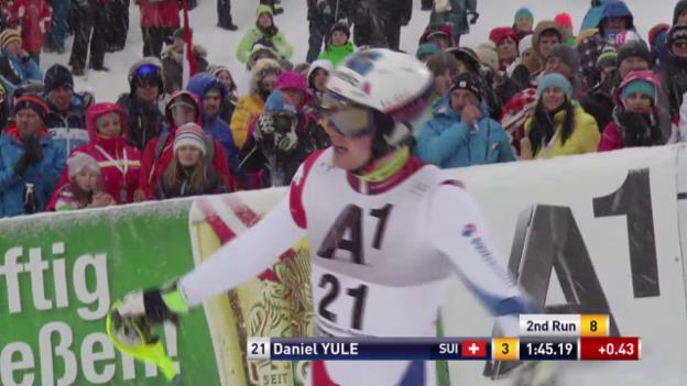 Video «2. Lauf von Daniel Yule» abspielen