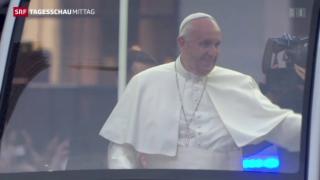 Video «Papst hält Rede vor UNO» abspielen