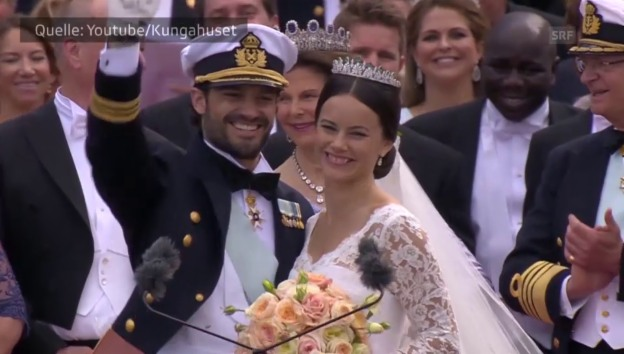 Video «So heiraten die Promis 2015» abspielen