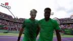 Video «Federer startet in Miami erfolgreich» abspielen