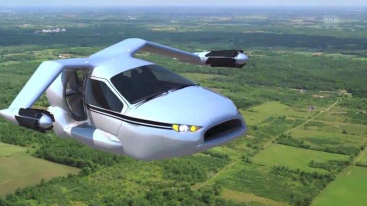 So könnte das Auto der Zukunft aussehen: Werbevideo von Terrafugia