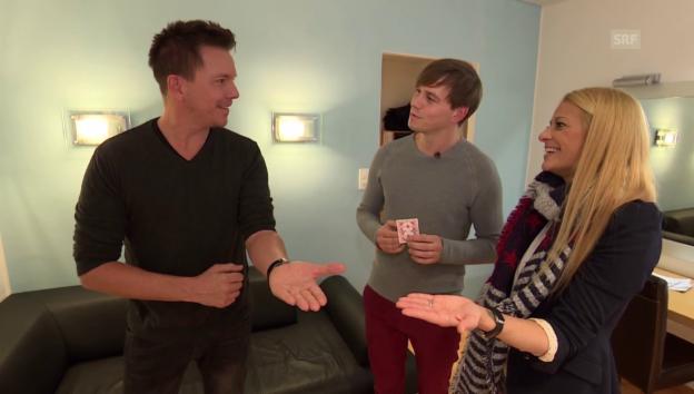 Video «Folge 5: Sven Epiney und Christa Rigozzi» abspielen
