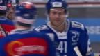 Video «Wiedersehen alter Bekannter bei ZSC-Lugano» abspielen