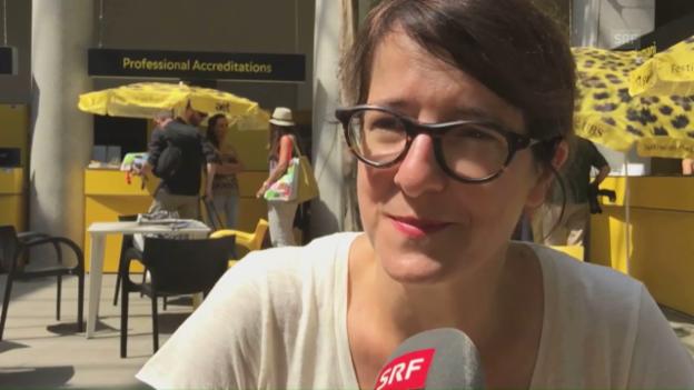 Video «Welchen Film haben Sie am häufigsten gesehen, Ursula Meier?» abspielen