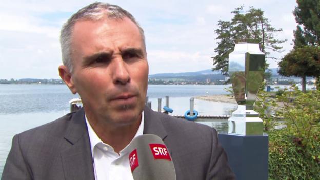 Video «CHL-CEO Martin Baumann über die KHL-Teams» abspielen