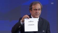 Video «UEFA vergibt EM-Final 2020 nach London» abspielen