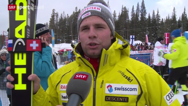Video «Interview mit Beat Feuz («sportaktuell»)» abspielen