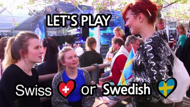 Video «Swiss or Swedish? – das Zweiländerquiz» abspielen