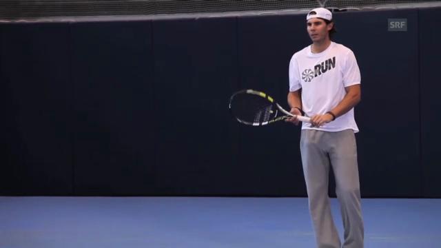 Rafael Nadal vor dem Comeback