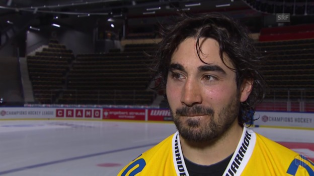 Video «Eishockey: CHL, Interview Ambühl» abspielen