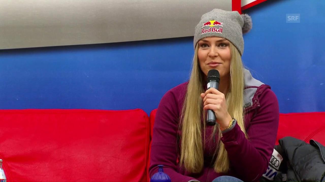 Lindsey Vonn spricht über ihre Rückkehr