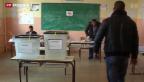 Video «Wahlen in Kosvo gestört» abspielen