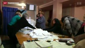 Video «Ukraine nach den Wahlen der Separatisten» abspielen