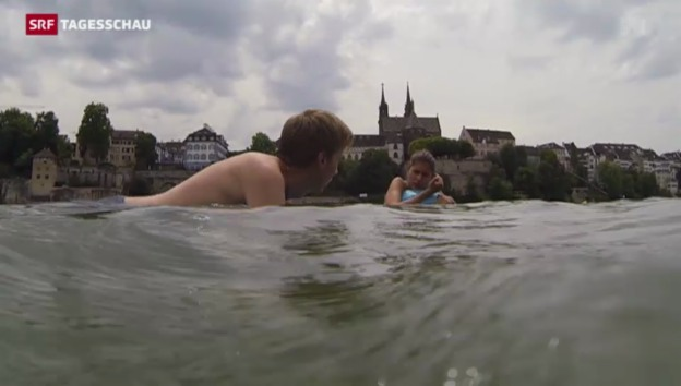 Video «Flussschwimmen wird zum Volkssport» abspielen