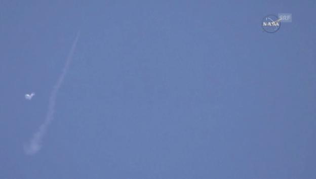 Video «Riesenfallschirm der Nasa beim Test (unkommentiert)» abspielen