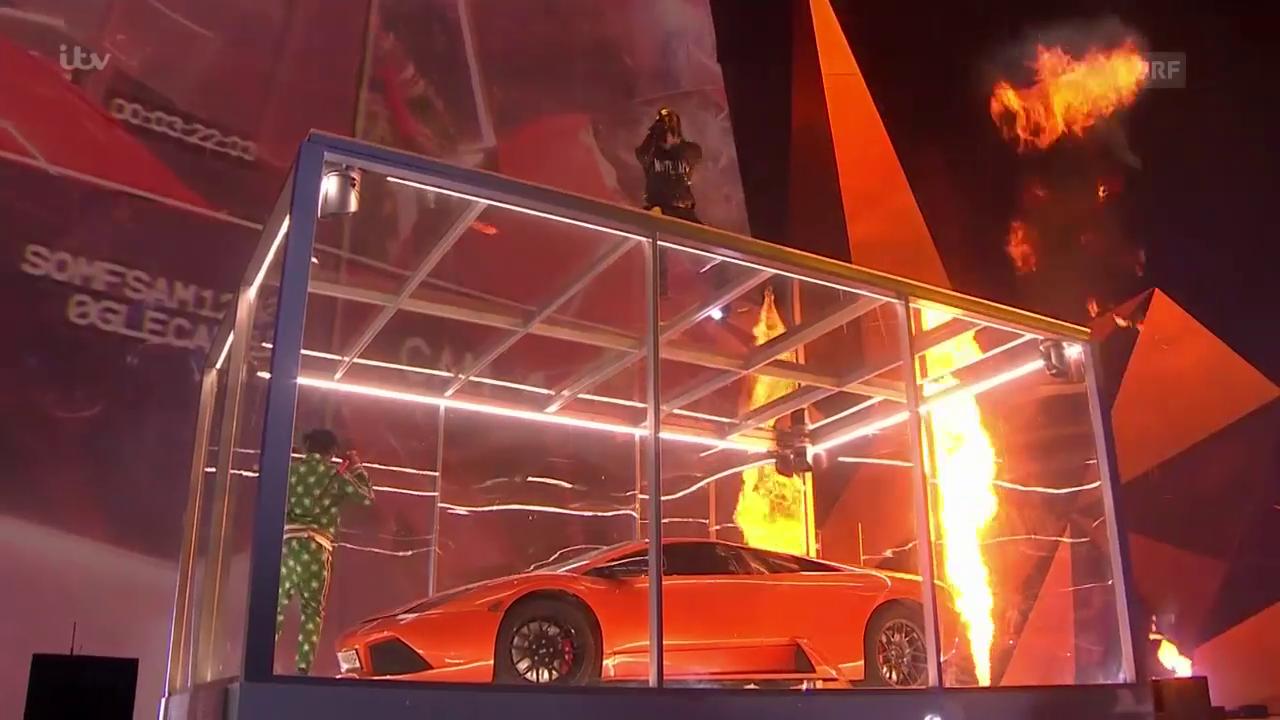Auftritt von Kendrick Lamar an den «Brit Awards»