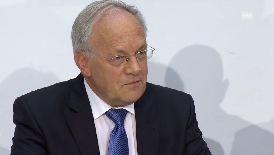 Schneider-Ammann zum Ausgang der Abstimmung