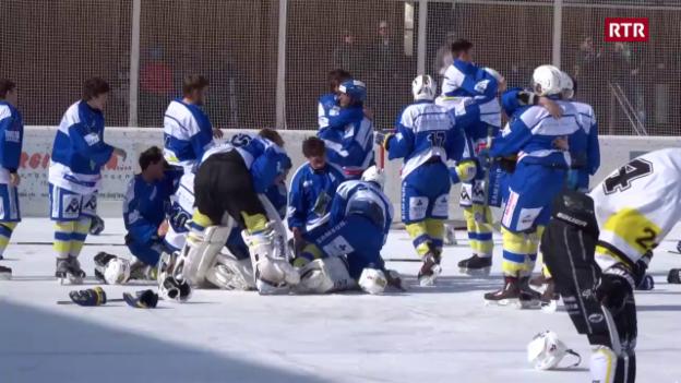 Laschar ir video «Ils juniors da San Murezzan èn campiuns svizzers»