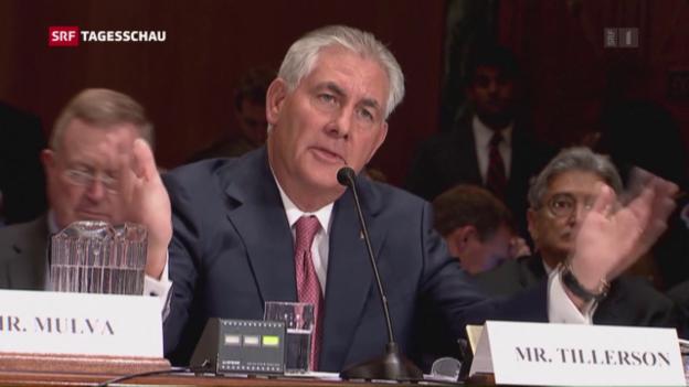 Video «Exxon-Chef wird Trumps Aussenminister» abspielen