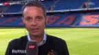 Video «Fussball: FCB-Präsident Bernhard Heusler im Interview» abspielen
