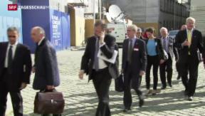 Video «Aussenminister suchen Lösung für Ukraine» abspielen