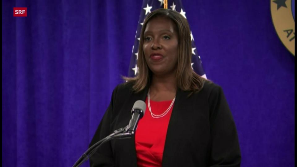Generalstaatsanwältin Letitia James: «Es hat ungewollte Berührungen, Küsse, Umarmungen und unangebrachte Kommentare gegeben»