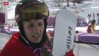 Video «Gold und Silber im Snowboard - die Siegerehrung» abspielen