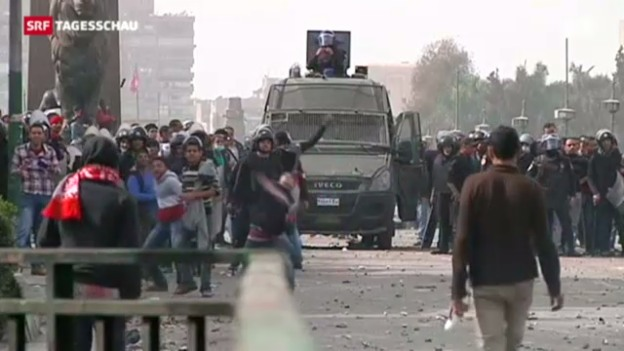 Video «Ausschreitungen in Ägypten» abspielen
